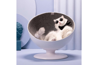 Furrytail Boss Cat Chair, Elevated Cat Bed