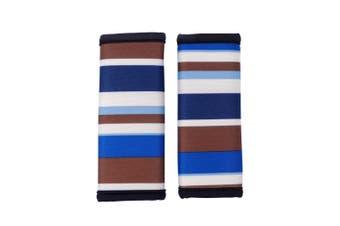 Ibiyaya Pet Stroller Handle Cover, Blue Stripes