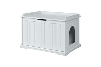 Cleo Cat Litter Cabinet, White