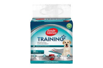 Simple Solution Puppy Training Pads, 30 Pack
