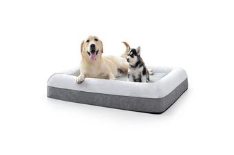 Suede & Linen Hugger Pet Bed