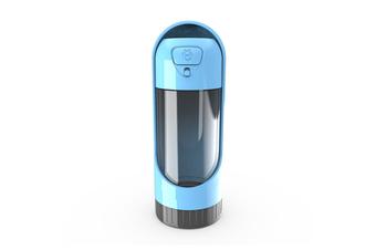 Elspet Collapsible Pet Water Bottle, Blue