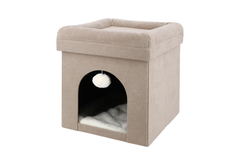 Collapsible Cat Cube Playbox