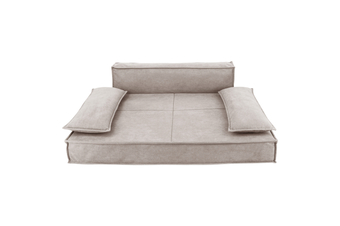 Luxury Sofa Pet Bed in Oatmeal