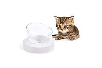 Elspet Adjustable Single Raised Cat Bowl