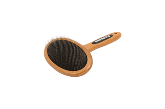 Natural Bamboo Slicker Brush for Dogs & Cats