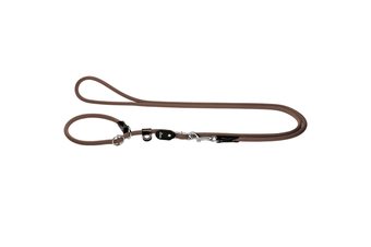 Hunter Retriever Rope Dog Lead, Brown