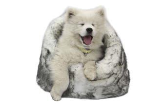T&S Lux Faux Fur Arctic Pet Igloo