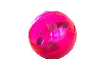 Rogz Tumbler Dog Treat Dispenser Toy, Pink