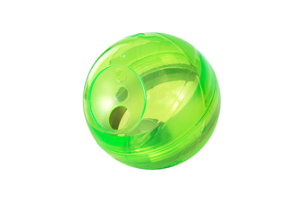 Rogz Tumbler Dog Treat Dispenser Toy, Lime