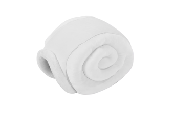 Furrytail Little Snail Cat Bed - White