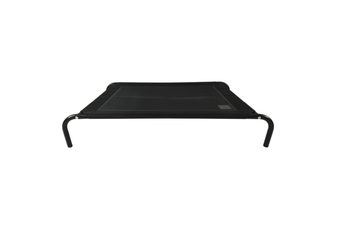 T&S Elevated Dog Bed, Black