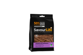 Savourlife Healthy Dog Treats, Australian Kangaroo Strips 165g
