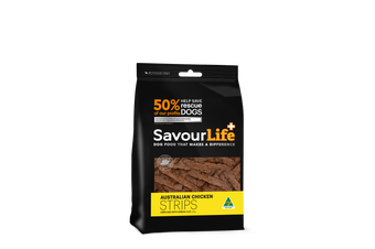 Savourlife Healthy Dog Treats, Australian Chicken Strips 165g