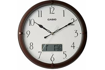 Casio Wall Clock IC-01-5DF White With Day & Date