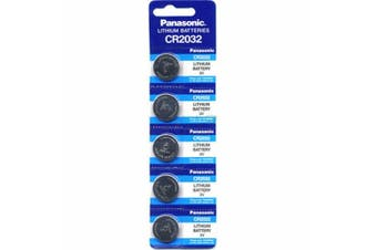 CR2032 3V 5 x Lithium Button Coin Battery Brand New Genuine Expires: 12/2030