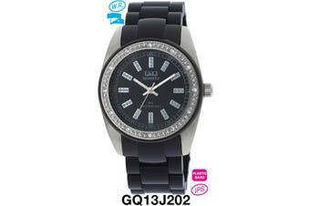 Citizen Made QQ Ladies Fashion Watch 3-Hand Japanese Quartz Movement Water Resist GQ13J202