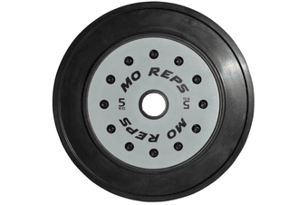 MO REPS Olympic Weightlifting Technique Bumper Plates 5KG (PAIR)