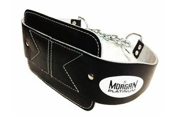 Platinum Leather Dipping Weight Belt