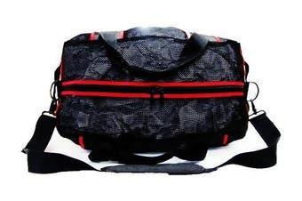 Morgan Endurance Pro Mesh Gear Bag - Black-Red