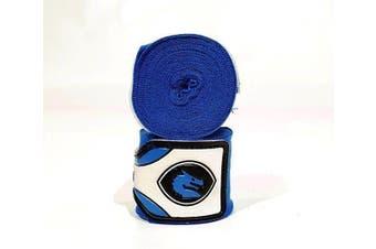 Morgan MEXICO ELASTIC  BOXING HAND WRAPS - 180inch- 4m long - Blue