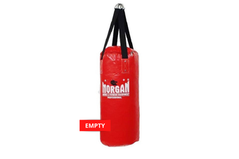 Morgan Small Nugget Punch Bag - EMPTY / RED