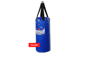 Morgan Small Nugget Punch Bag - FILLED / BLUE