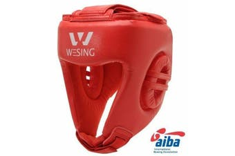 Morgan AIBA Approved Leather Head Guard