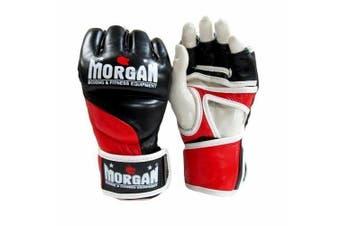 Morgan V2 Platinum Leather MMA Gloves