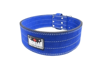 Morgan Quick Release Suede Leather Powerlifting Belt