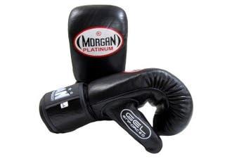 Morgan Platinum Gel Curved Leather Bag Mitts