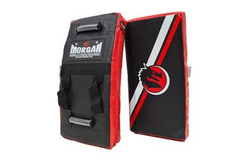 Morgan Junior Curved Hit & Strike Shield - Red