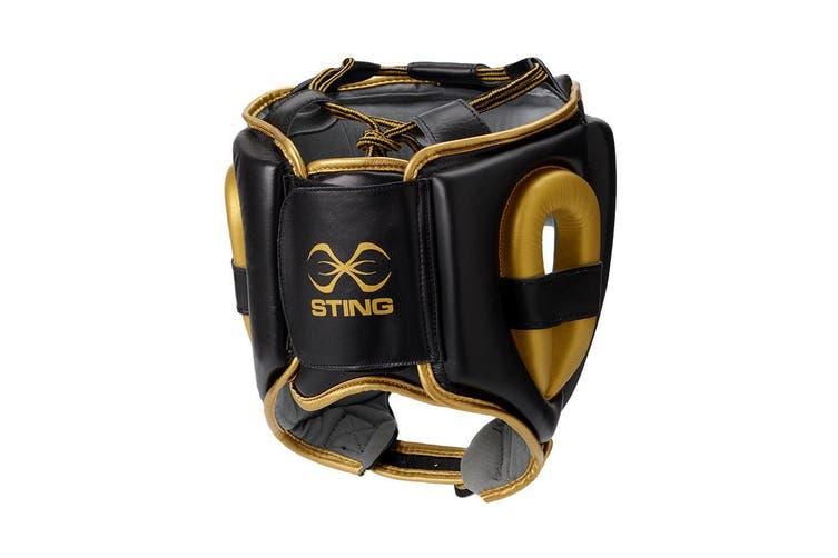 Sting Viper Gel Full Face Head Guard - M / BLACK