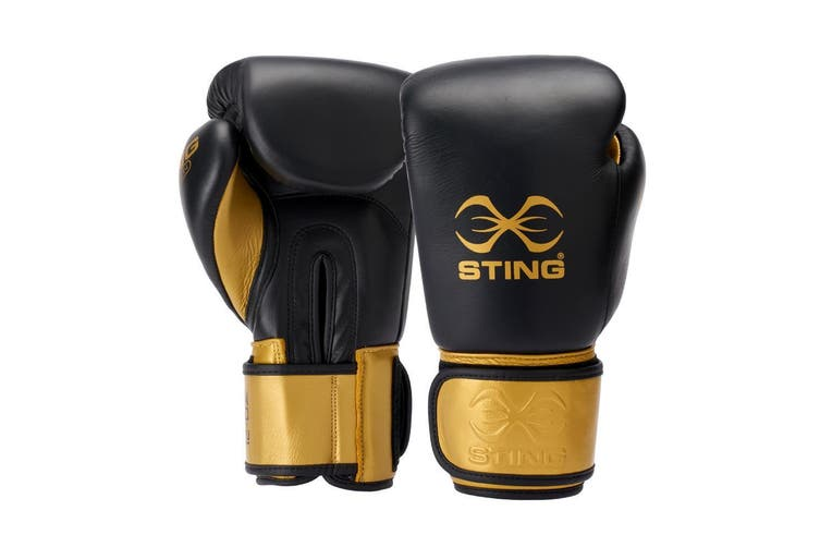 Sting Evolution Boxing Gloves - 12OZ / BLACK
