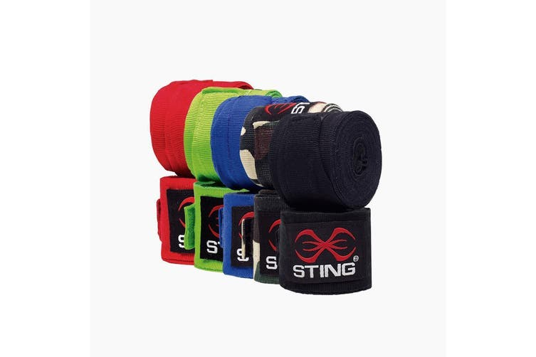 Sting Elasticised Hand Wraps - 4.5M - PINK