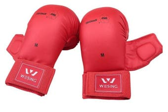 Wesing WKF Approved Karate Gloves with Thumb Protection
