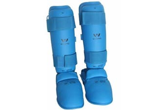 Wesing WKF Approved Karate Shin and Instep Guard (Pair)