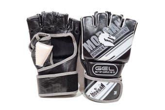 Morgan Aventus Gel MMA Hybrid Leather Bag Gloves