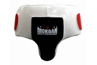 Morgan V2 Professional Leather Gel Abdominal Groin Guard