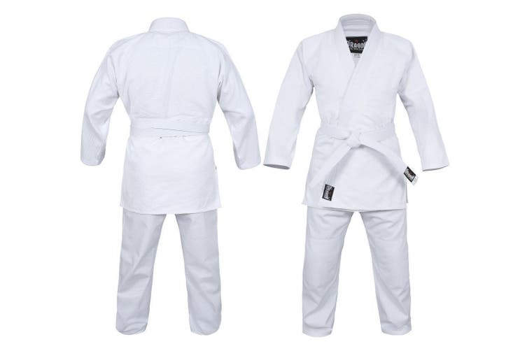 Dragon 1.5 (550SGM) Weave Judo Uniform - White - 00
