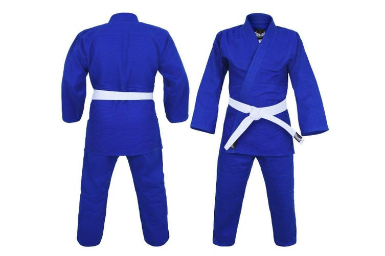 Dragon 1.5 (550GSM) Weave Judo Uniform - Blue - 00