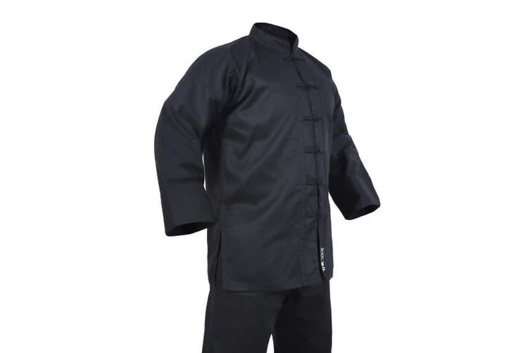 Yamasaki Kung Fu Uniform (Black Trim) - 10oz - 00