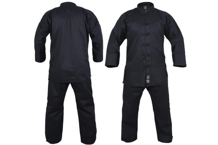 Yamasaki Kung Fu Uniform (Black Trim) - 10oz - 0