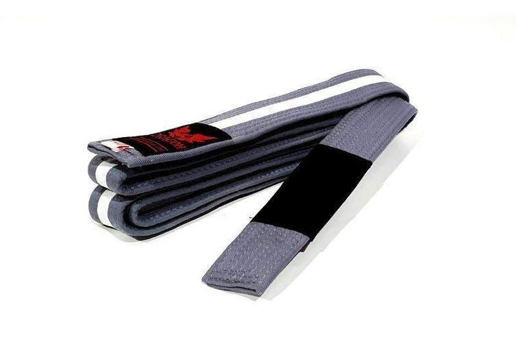 Morgan IBJJF Approved BJJ Belt - M-4 / Grey White