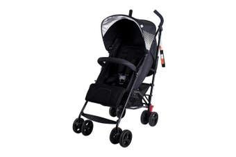 BebeCare Mira Fully Recline Seat Baby Stroller Pram Black