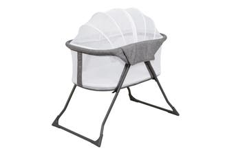 Childcare Maya Light Weight Travel Bassinet Storm Cloud