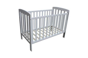 Childcare Bristol Wooden Timber Cot White