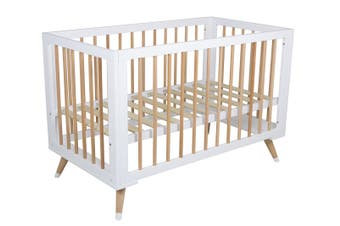 Childcare Zuri Modern Timber Baby Cot Natural