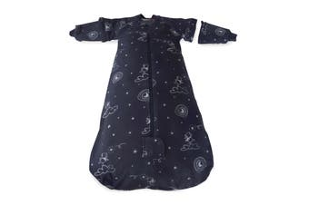 Bubba Blue Navy Wish Upon A Star 2.5 Tog 24-36mth Sleep Bag