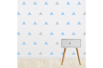 Living Textiles Wall decal set Triangle